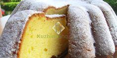 Kek me limon - Receta + Fotografi Milk Recipes, Gourmet Recipes, Sweet Recipes, Cooking Recipes, Slovak Recipes, Czech Recipes, Kolachi Recipe, Eastern European Recipes, Bread Dough Recipe