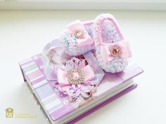 Hey, I found this really awesome Etsy listing at https://www.etsy.com/listing/553281381/ballet-slippers-and-rose-headband-baby