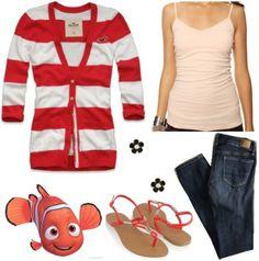 Nemo Outfit - (Fashion Inspiration: Disney Pixar's Finding Nemo)