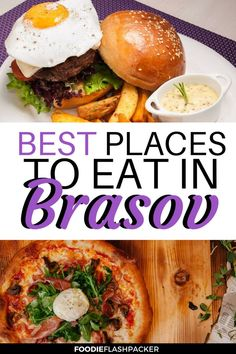 The 8 Best Brasov Restaurants Romania Food, Romania Travel, Classic Italian Dishes, Italian Chef, Burger Menu, Good Burger, Brasov Romania, Juicy Steak, Artisan Food