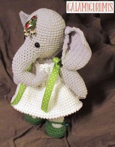 Infanta Elefanta Patrón Gratis 4