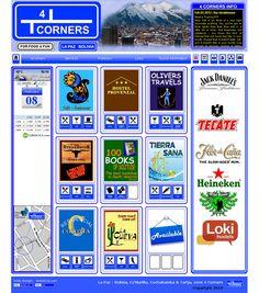 """Desarrollamos el sitio Web para """"Four corners La Paz"""", este sitio Web presenta diferentes alternativas turísticas ubicadas en la calle Murillo de la ciudad de La Paz."""