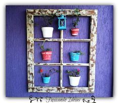 Outside decoration.use pink pic frame from MIL Outside Decorations, Home Ownership, Flower Frame, Flower Pots, Decor Styles, Ladder Decor, Fall Decor, Restoration, New Homes
