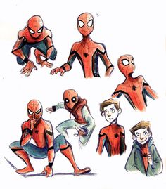 Spider-Man Homecoming By itzitxou on tumblr