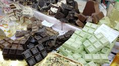 Sweets at the Chocolate Festival in Chocolate Festival, Southern Italy, Gift Wrapping, Sweets, Gifts, Gift Wrapping Paper, Sweet Pastries, Presents, Gummi Candy