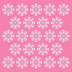 Silhouette Design Store: background mask flowers