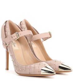 VALENTINO Valentino Garavani Rockstud Spike leather pumps