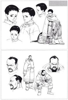 "Artworks of ""Seraphim"" manga by Satoshi Kon and..."