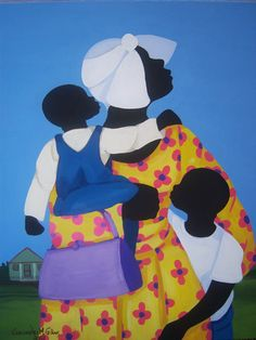 Cassandra Gillens Cassandra Gillens is a self-taught artist, residing in the Low Country of South Carolina, an area she cherish. African American Artist, American Artists, Mary Engelbreit, Caribbean Art, Beauty In Art, Art Africain, Africa Art, Shadow Art, Arte Pop