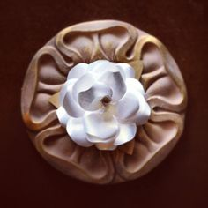 Recycled Paper Flowers  Large Roses  Eco Wedding  by BeHandmaiden, $25.00