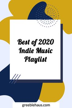 Over 550 songs from 2020 - a best of 2020 playlist on Spotify with new indie, rock, pop, R&B, and local Denver music.