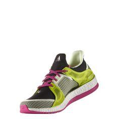 581cc4a9a Adidas Pure Boost X Training Running Shoes (AQ5221) Black Shock Pink Semi