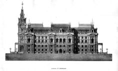 Design for a new city hall, Vienna