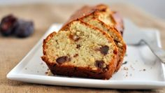 Banana, date and walnut cake