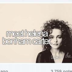 Bucketlist; Bellatrix Lestrange. >>>