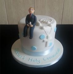 1st communion cakes for boys | Dawns Custom Cakes - Communion Cakes