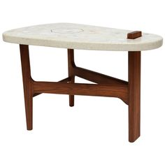1stdibs.com | Harvey Probber Surfboard Side Table
