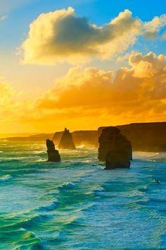 The Twelve Apostles Marine National Park, Victoria, Australia