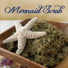 DIY Mermaid Body Scrub