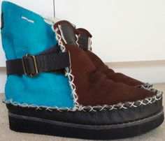 New look for winter Made to order for a client Color Combos, Suede Leather, New Look, Pure Products, Boots, Winter, Colour Combinations, Shearling Boots, Shoe Boot