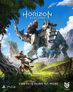 1. Horizon Zero Dawn is an exhilarating new action role playing game exclusively for the PlayStation®4 System, developed by the award-winning Guerrilla Games, creators of PlayStation's venerated Killzone franchise.