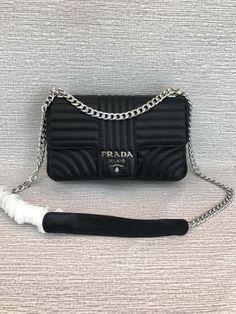 d084cabb2a5e Prada Women s Leather Shoulder Bags Black Leather Shoulder Bag