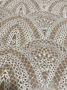 Cotton lace fabric highly quality dress fabric organza net 130 cm width guipure lace for fashion dress - lace things Border Embroidery Designs, Hand Embroidery Patterns, Lace Patterns, Vintage Patterns, Sewing Patterns, Crochet Patterns, Ivory Lace Wedding Dress, Bridal Lace, Dress Lace