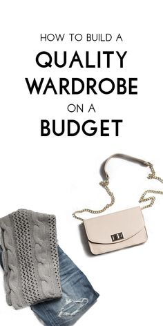 A must pin! Fashion blogger spills the secrets to scoring a designer quality wardrobe on a tight budget!