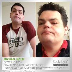 Halfway through Challenge #1 and 15 LBS down ! #vilife http://visal.us/1dFangP