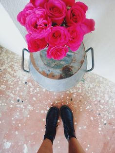 Roses and Dr. Martens