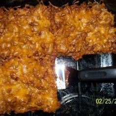 Low Carb Taco Bake Recipe. cut out heavy cream ect. and make lower in fat
