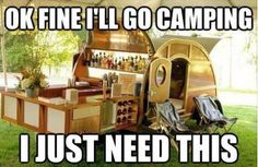 I can do camping!