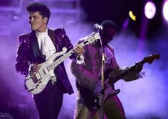 Grammy's Prince tribute with Bruno Mars took months of planning