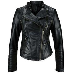Auch in dieser Saison darf dieses Allround-Talent in keinem Kleiderschrank fehlen: Lederjacke ab 184,99€ ♥ Hier kaufen: http://www.stylefruits.de/lederjacke-laura-scott/p4222169 ♥ #Bikerjacke #schwarz
