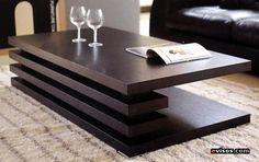Mesas de centro de madera - Imagui