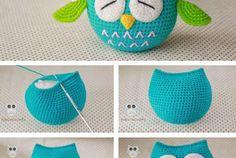 Cute Owl - Free Crochet Pattern