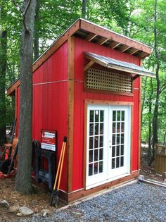 Lovely and Cute Garden Shed Design ideas for Backyard Part 8 ; garden shed ideas; garden shed organization; garden shed interiors; garden shed plans; garden shed diy; garden shed ideas exterior; garden shed colours; garden shed design Wooden Storage Sheds, Backyard Storage Sheds, Garden Tool Storage, Shed Storage, Outdoor Storage, Small Storage, Backyard Sheds, Bungalows, Storage Shed Designs Ideas