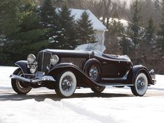 1934 Auburn Twelve Salon Speedster - (Auburn Automobile Company Auburn, Indiana 1900-1936)