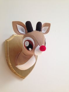 Rudolph Faux Taxidermy Made to Order medium par MisfitMenagerie