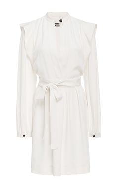 Brad Long Sleeve Mini Dress by ISABEL MARANT Now Available on Moda Operandi