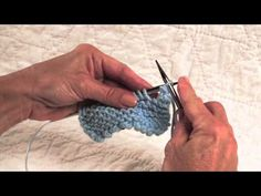 Channel Island Bind Off - YouTube