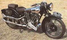 "Larry Lewis sent me a photo of the the last Brough Superior motorcycle that was owned by T. E. Lawrence, who was better known as ""Lawrence of Arabia"" for his exploits during World War I…"