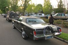 1969 Lincoln Mark III | OLD PARKED CARS.: 1969 Lincoln Continental Mark III.