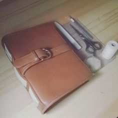 This is my new sketchbook, it is made from an old purse I got at a thriftstore, cannot wait to start using it!  #bookbinding #handmade #handbag #upcycle #environmentallyfriendly #green #sketchbook #art #artist #instaartist #maker
