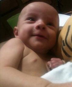 RIP 6 month old Hadley Arnett: Hadley died from a separated spine, brain hemorrhaging, broken ribs, and lacerations in his mouth after his mother abused and slammed his face into a swing.
