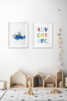 This amazingly cute Adventure Set of poster fits kids room or any other room :) Looks best when framed. All Illustrations were made by us, LadiesMinimal from scratch, without using any premade elements. Exercise For Kids, Other Rooms, Playroom, Art For Kids, Kids Room, Funny Pictures, Gallery Wall, Illustrations, Adventure