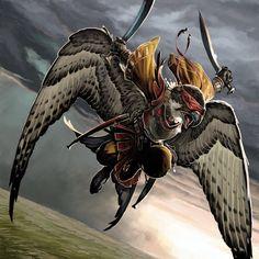 Icarus the Seer by BenWootten.deviantart.com on @deviantART