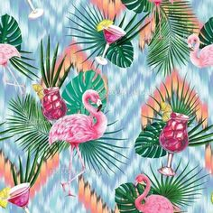Pattern Bank, Pattern Design, Repeating Patterns, Textile Prints, Surface Pattern, Under The Sea, Print Patterns, Plant Leaves, Royalty
