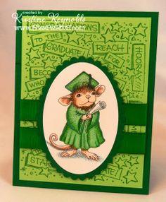 House-Mouse Designs® Graduate Stamp. http://www.ebay.com/itm/262253275394?ssPageName=STRK:MESELX:IT&_trksid=p3984.m1555.l2649