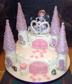 Disney's Sofia The First - Disney's Sofia the First Birthday Cake @Jennifer Ulbrich made me think of hannah